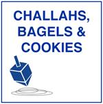 CHALLAHS, BAGELS and Black & White Cookies Fabrics