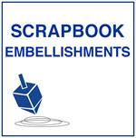 Judaic Scrapbook Craft Embellishments