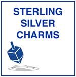 Sterling Sliver Jewish Charms