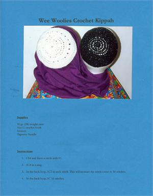 Kippot Knit Video & Kippot Knit Books at Crochet-A-Kippah