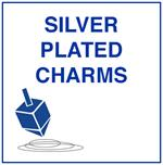 Silver Plated Jewish Charms