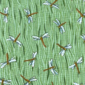 Passover Fabric: Plague #4 - Flies, dragonflies